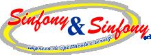 Sinfony & Sinfony S.r.l. Agenzia di spettacoli Calabria Artisti Cantanti Cabaret Noleggio Palchi Sedie Service audio luci Hostess Eventi