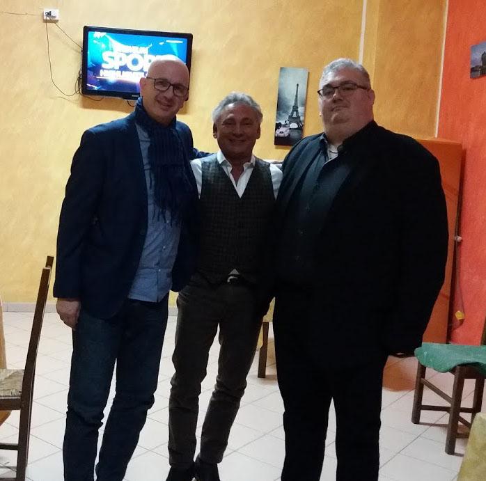 Francesco Paolantoni e Stefano Sarcinelli